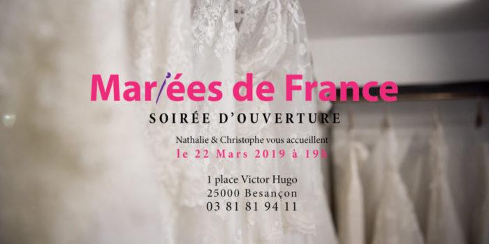 Soirée d'ouverture Mariées de France Besançon